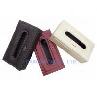 Wholesale PU Leather Tissue Box,napkin holder,Napkin box,tissue holder,storage box,Napkin holder from china suppliers