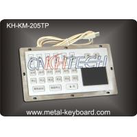 Wholesale Custom Industrial Keyboard with Touchpad for Internet Kiosk 15 Keys from china suppliers