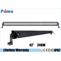 Wholesale Double Row Combo 42 Inch LED Car Light Bar High Bright 240W DC 9V - 32V from china suppliers
