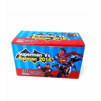 Wholesale Heroes Series-Superman VS Batman Chewy Candy Looks Clolorful Tastes Sweet from china suppliers