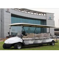 Wholesale White 8 Seater Electric Car Golf Car With Plastic Bodywork With CE For Hotel / Resort from china suppliers