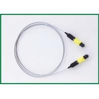 Wholesale MPO 12 Ribbon Optical Fiber Patch Cord , Multimode Elite Low Loss Jumper Cable from china suppliers