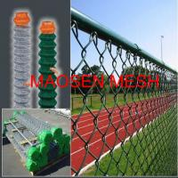 Wholesale Colorful, Anti-Aging Powerful Tensioner Playgound Farm Field Fence, Green Chain Link Fencing from china suppliers