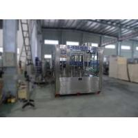 Steel Structure Automatic Water Bottling MachineLine Washing Filling Capping 3IN1 Machine