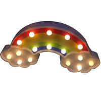 Buy cheap Rainbow led marquee light kids night light from wholesalers
