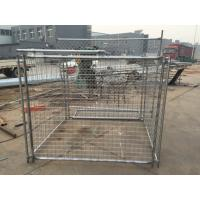 Wholesale Name: Galvanzied Steel Wire Mesh Rubbish Cage for your construction site from china suppliers