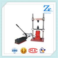 Wholesale C054 Porttable hand operated point load testing machine for rock testing machine from china suppliers