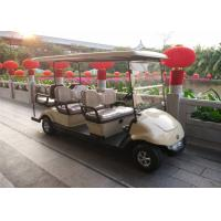 Wholesale Comfortable Electric Club Car  6 Passenger Golf Carts For Hotel / Club Energy Saving from china suppliers