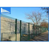 Wholesale Steel Security Anti Climb Fence Wire Material For Industry Zone , Powder Coated Surface from china suppliers
