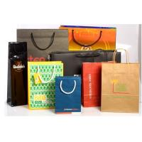 Wholesale Recyclable Customized Paper Bags Full Color Printing Kraft With Handles from china suppliers