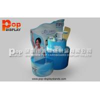 Wholesale Blue Standing Corrugated Cardboard Display / Pallet Display With Longlasting Printing  from china suppliers