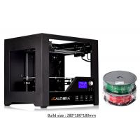 Wholesale High Resolution Large Volume 3D Printer Single Extruder With LED Fan 280 x 180 x 180mm from china suppliers