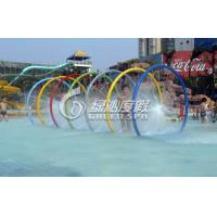 Quality Children Water Pool Toys Colorful Rainning Gallery for Spray Park Equipment for sale