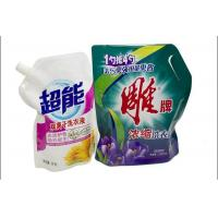Wholesale PET / PE / PA Liquid Stand Up Spout Pouch Packaging For Laundry Detergente from china suppliers