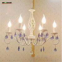 Buy cheap Luxury Crystal Chandelier Lighting Modern LED Iron Chandeliers For Living Room Kitchen lustres de sala de cristal from wholesalers