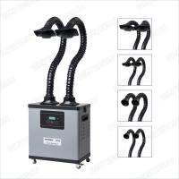 Wholesale Digital Display Grey Soldering And Mobile Welding Fume Extractor With Three Layers Filter from china suppliers