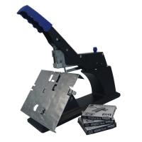 Wholesale Flat Stapler 60 Sheet Manual Saddle Stapler Black Color Clip Platform Structure from china suppliers