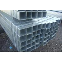 Wholesale BS EN39 Pre Galvanized Rectangular Steel Tubing For Low Pressure Liquid Delivery from china suppliers