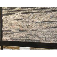 Buy cheap Rose Granite Culture Stone,Natural Stone Cladding,Stacked Stone,Ledger Stone Panels from wholesalers