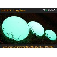 Wholesale Wedding Party decrative Led Waterproof Ball , Garden Illuminated Ball Lighting IP65 from china suppliers