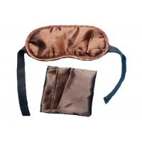 Wholesale Convenient Travel Camping Velcro Tape Sleep Blindfold Eye Mask With A Pouch from china suppliers