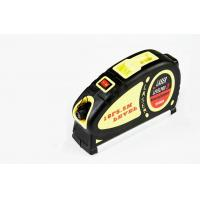 Wholesale LV-05 8FT 5.5m Measuring Tape Laser Level Meter Measuring Equipment with 2 Way Level Bubbles and Laser Power On/Off from china suppliers