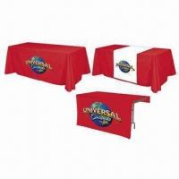 Buy cheap Table Covers, Customized Designs/Printings, 300D Polyester, Available in Various from wholesalers