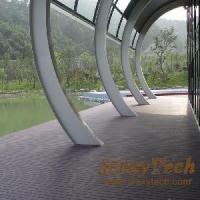 Wholesale Composite Wood Decking 140x23mm (ML02) from china suppliers