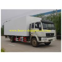 Wholesale SINOTRUK howo refrigerated box truck 4x2 for milk transport with warranty from china suppliers