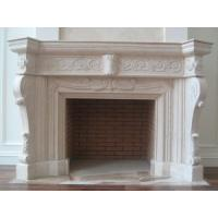 Wholesale White Decoration Wood Stove Insert, Marble Fireplace from china suppliers