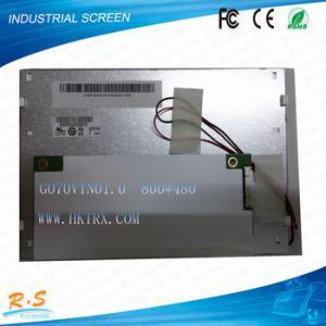 "Stock  AUO 7""  LCD display panels 800x480  WXGA  G070VTN01.0"