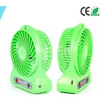 Wholesale Blowing Quickly USB Mini Desktop Fan Table Green Cooling Desk Fan from china suppliers