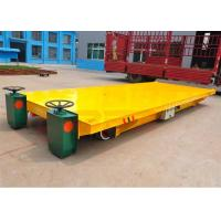 Wholesale Large container handling wide platform railway transport wagon electric power from china suppliers