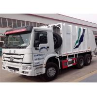 Wholesale SINOTRUK HOWO 6X4 Garbage Compactor Truck 16 cbm 10 Wheels For Waste Collect from china suppliers