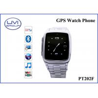 Wholesale PT202F Fashionable Real Time Wireless GPS Wrist Watch Tracker with 1.3MP Camera + Bluetooth + FM+ MP3 from china suppliers
