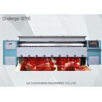 Wholesale 3.2m Industrial Large Format Solvent Printer , Challenger 3276E Flex Banner Printing Machine from china suppliers