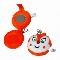 Wholesale Plush Toy Keychains, Various Colors and Sizes are Available from china suppliers