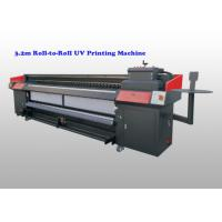 Wholesale Flex Banner CMYK uv roll to roll printer , flatbed uv digital printer With Ricoh G5 from china suppliers