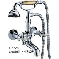 Buy cheap Antique Ceramic Wall Mount Bathroom Sink Faucet Two Hole for Bathtub from wholesalers