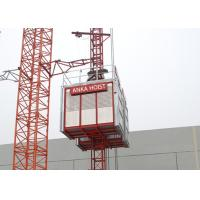 High Performance Construction Passenger And Material Hoist With CE Approved