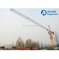 Wholesale Construction Hammerhead Tower Crane 40m Free Height 150m Max Height Lifting from china suppliers