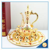 Wholesale Shinny Gifts New Home Ornament Gift Set Handmade Enamel Metal Craft Decorations Russian Castle Style TXX from china suppliers