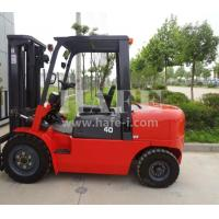 Wholesale 2stage 3m full free container mast 4t diesel forklift with 1070mm fork length and chinese engine from china suppliers