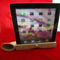 Wholesale Mini Ipad Silicone Skin Case Iphone Silicone Speaker Horn Stand , Hands-Free from china suppliers