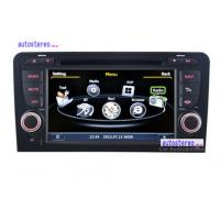 Wholesale Automobile Multimedia  Sat Nav WinCE 6.0 Audi Car Stereo with iPod / Three Zone / SWC from china suppliers