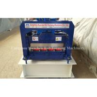 Quality PPGi GI Metal Roofing Sheet Roll Forming Machine Double Layer 45# Steel Roller for sale