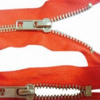 Wholesale Flame-resistant 5#Y teeth close end zippers, measures 50cm from china suppliers