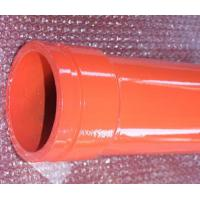 Wholesale Red Concrete Pump Pipes 148mm / MF 166mm Flange , 20000cbm Lifetime from china suppliers