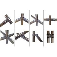 Wholesale Slivery Steel Pipe Jointing Chrome Pipe Connectors Polishing Chrome Plated Surface Treatment from china suppliers