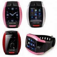 Wholesale MP3/MP4 Handfree E-book Quad-band Fashion Bluetooth Wrist Watch Cell Phones from china suppliers
